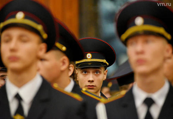 В столице будущие полицейские присягнули Отечеству