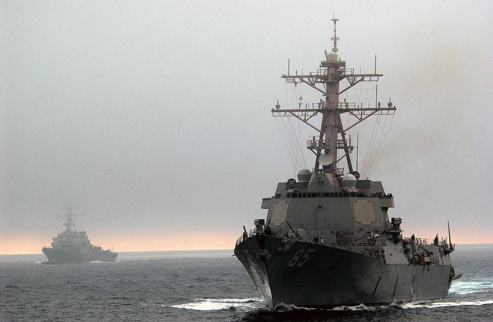 """""""США продемонстрировали свою отвагу"""": американский эсминец приблизился к базе РФ в Японском море"""
