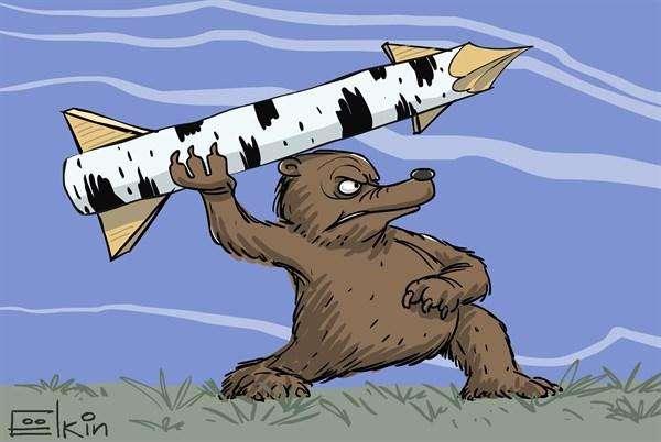 33 карикатуры показывающие, как в других странах смеются над нынешней Россией