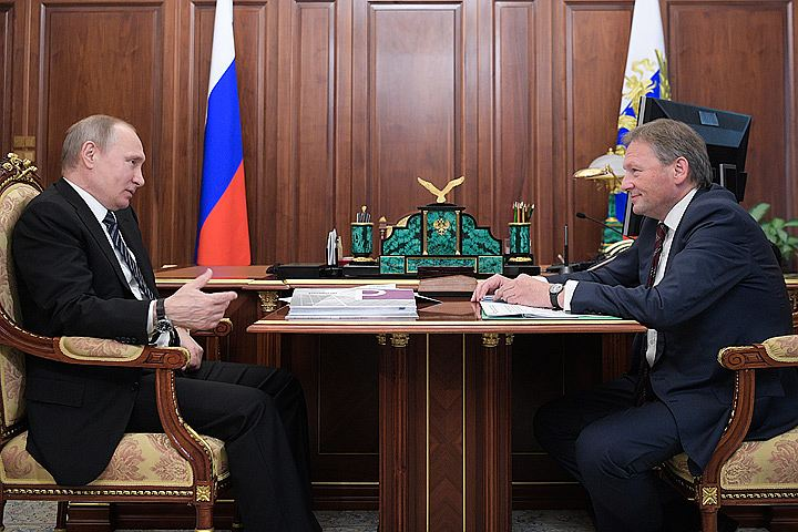 Путину доложили, что бизнесменов стали меньше сажать