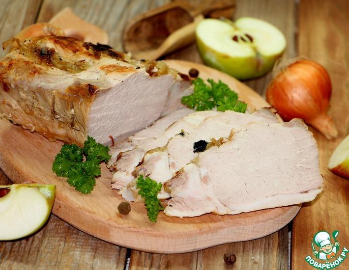 Рецепт: Брассированная свинина на горячее или бутерброд