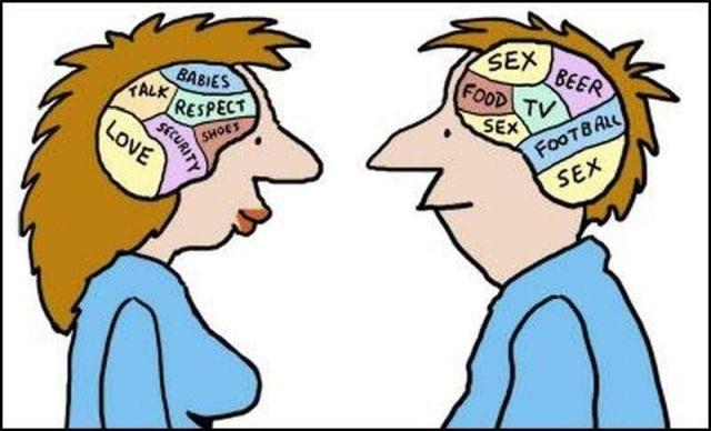 В чем разница между мужчиной и женщиной в психологии и любви?