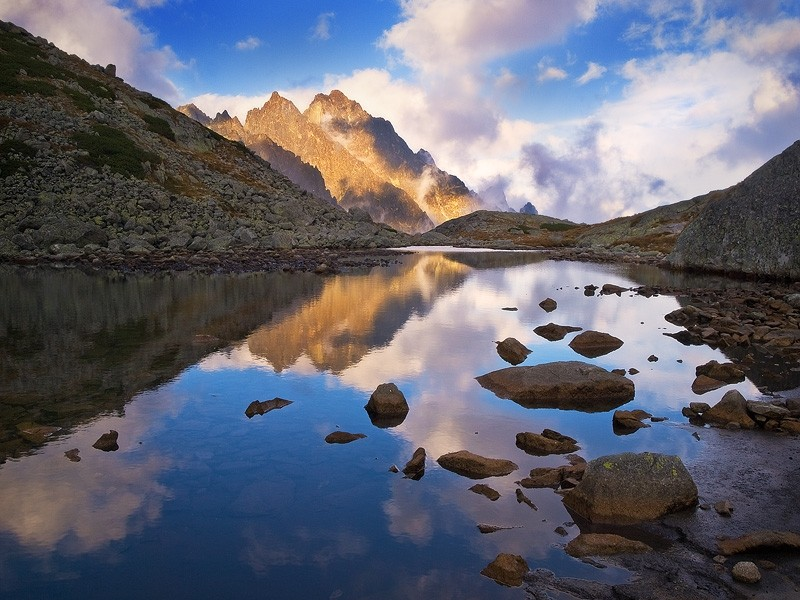 Фотография High Tatras´ Middle Peak автор Jan Bainar на 500px