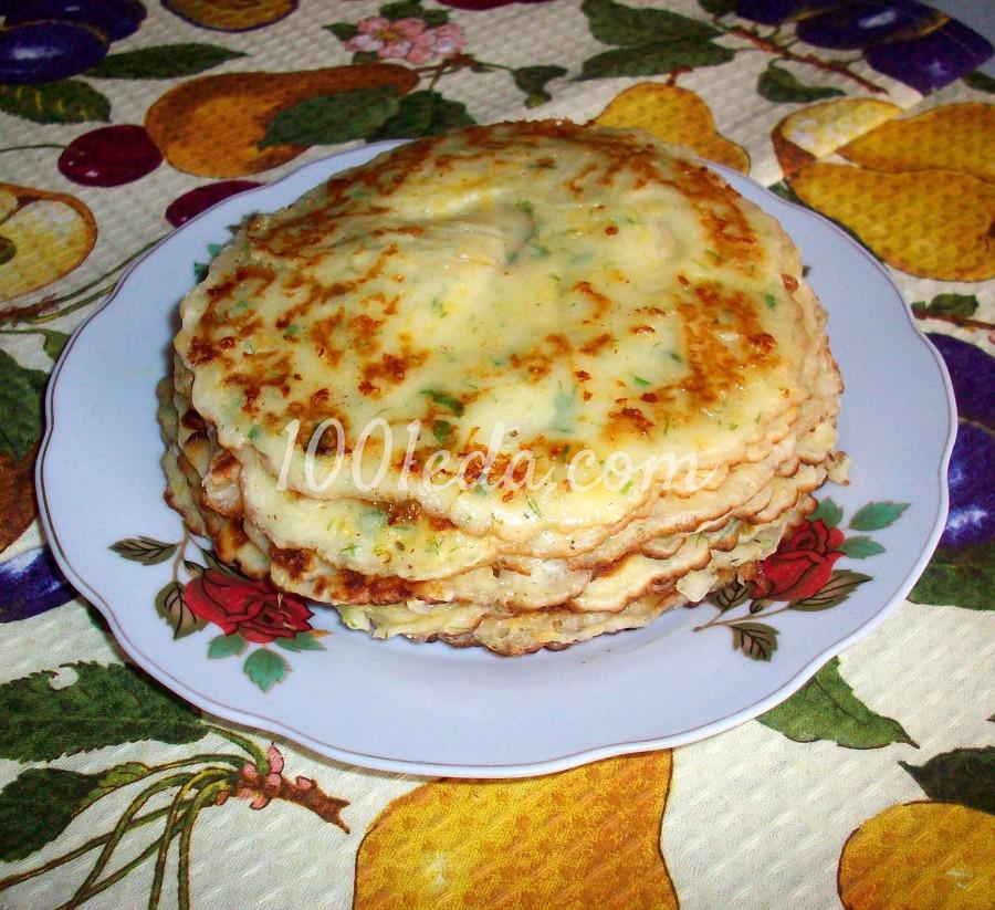 Сырные блины с укропом: рецепт с пошаговым фото