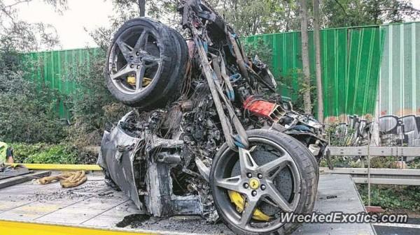Ужаснейшая авария с Ferrari 458