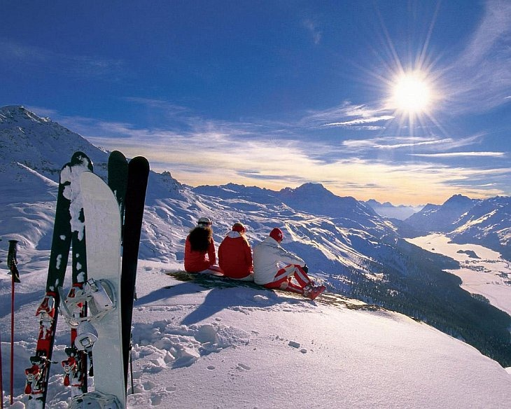 Удивительные горнолыжные курорты мира