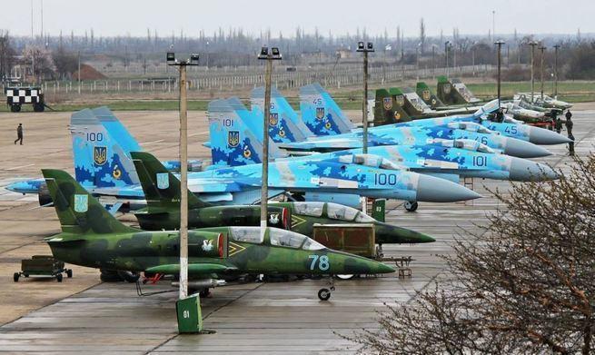 На что затачивают «Голубой трызуб». ВВС Украины в ожидании войны