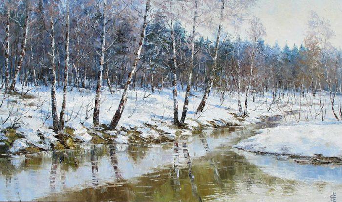 художник Евгений Синев картины - 13