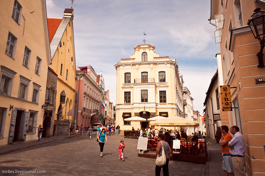 Таллин, Эстония, здание Большой Гильдии