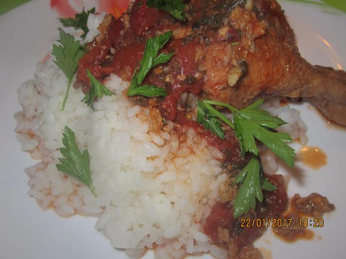 Чахохбили из курицы рецепт с уксусом