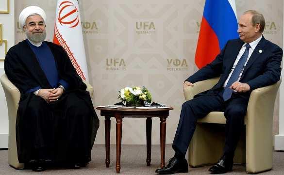 Путин иРоухани осудили «агрессивные действия» США против Сирии