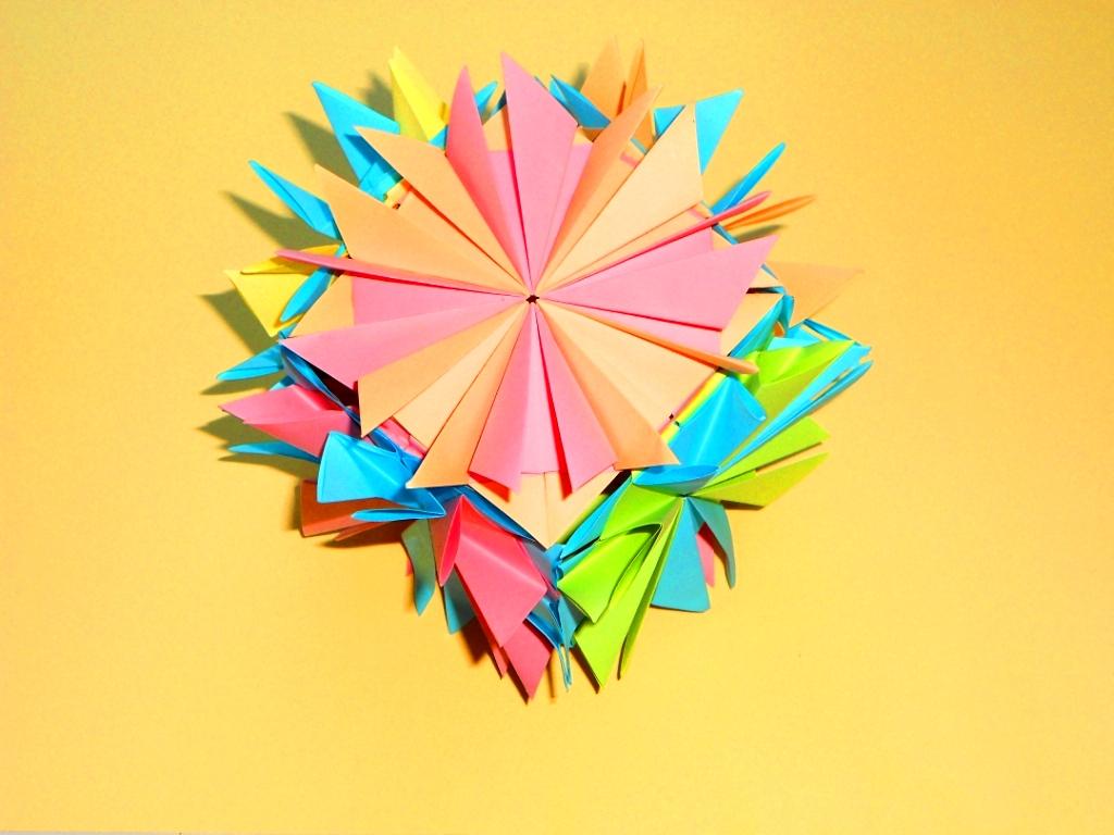 Кусудама куб Простые поделки…