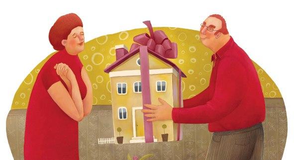 Как подарить квартиру по закону?