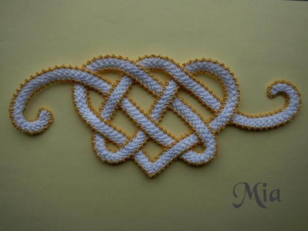 Мастер-класс по вязанию шнура