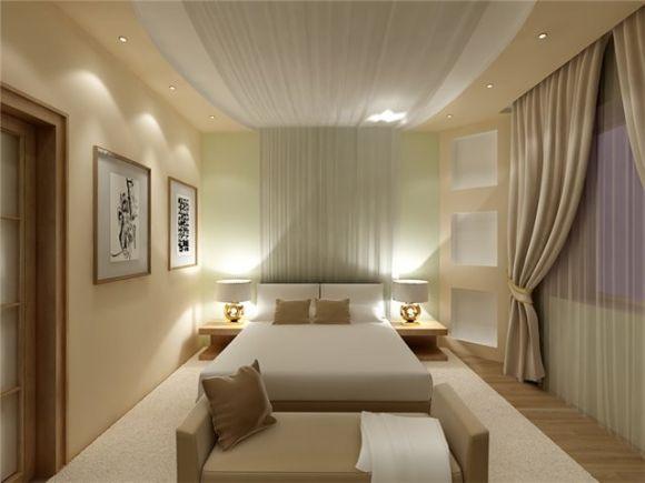 Дизайн спальни 12 кв.м.