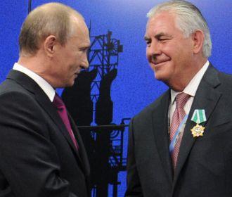 Кремлевский орденоносец Тиллерсон