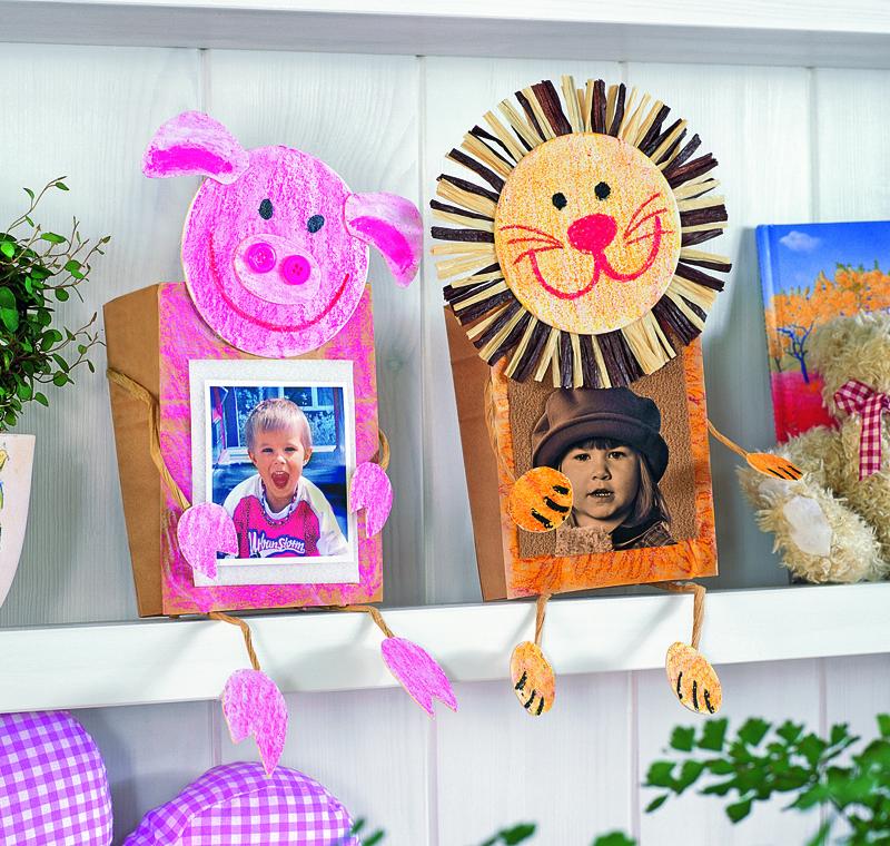 Забавные рамки для детских фотографий