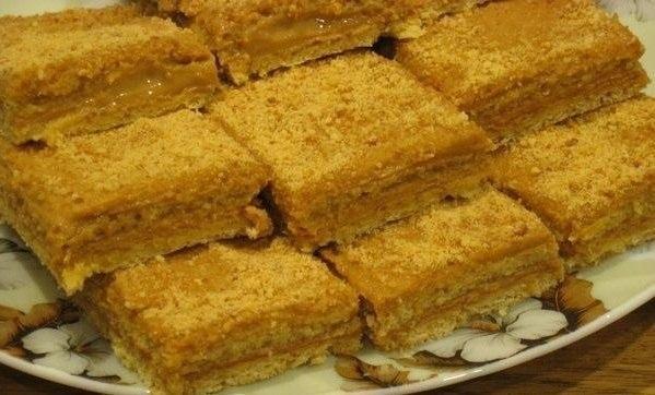 Влюбитесь сразу — Медово-апельсиновые пирожные со сгущенкой