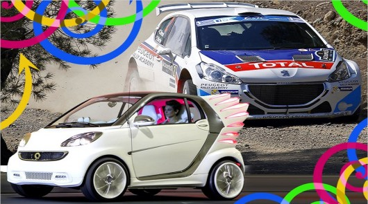 Самые смешные и сумасшедшие автомобили