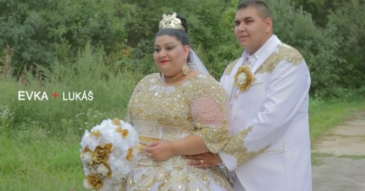 Свадьба словацких цыган