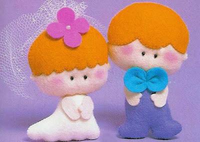 Маленькие игрушки из фетра. Выкройки фетровых игрушек