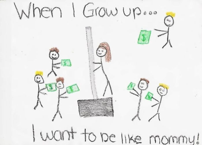 10+ Innocent Kid Drawings That Look Totally NSFW