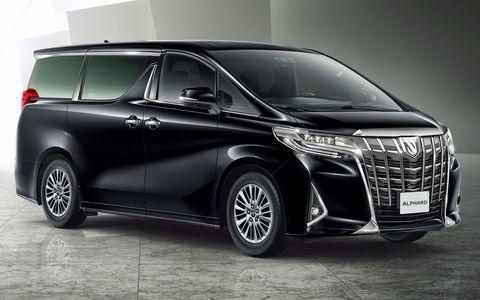 Обновленный Toyota Alphard в…