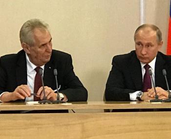 «14 против 145», — заявление Земана потрясло и Россию, и Запад