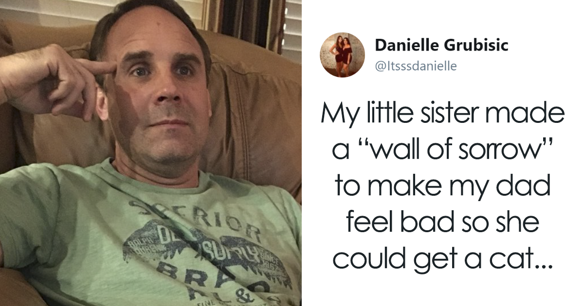 Daughter Tries To Guilt-Trip Her Dad Into Getting Her A Kitty, Gets The Best Response