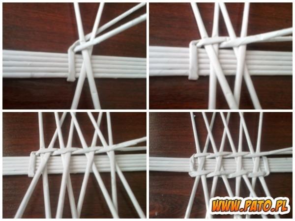 Мастер-класс по плетению корзинки из газетных трубочек (8) (600x450, 152Kb)