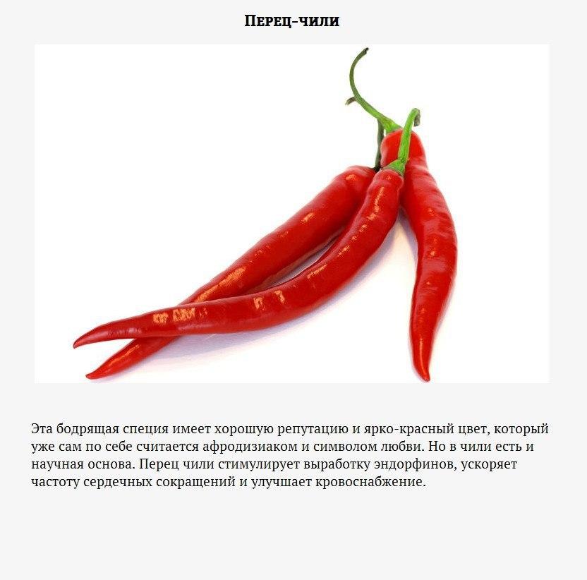 9 продуктов, которые сделают вашу осень «горячей»