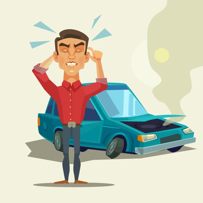 Анекдот про неожиданного помощника впочинке автомобиля