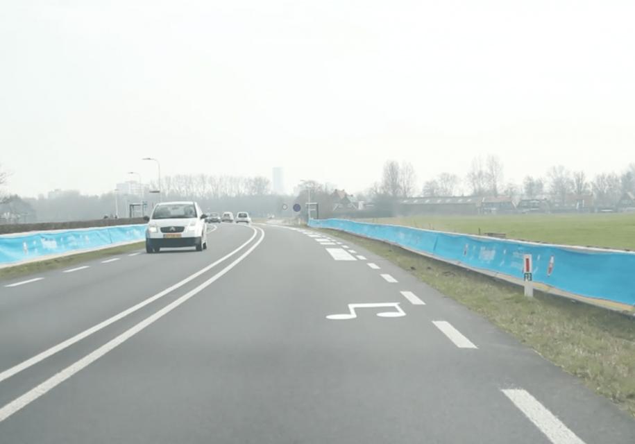 В Нидерландах сделали «поющую» дорогу. И сразу же демонтировали ее