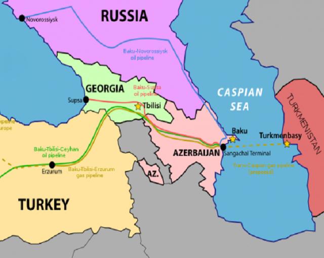 Вокруг России по дну Каспия. Скрытный маневр британцев