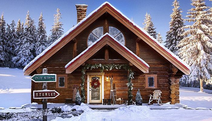 По сходной цене продаётся дом Санта-Клауса! Желаете?
