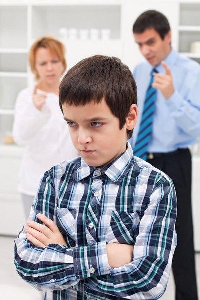 Скрытая злоба и враждебность по отношению к родителям