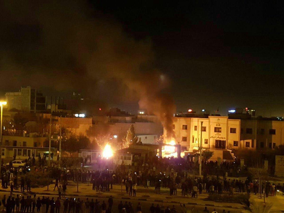 """Началась """"арабская весна"""" в Иране..."""