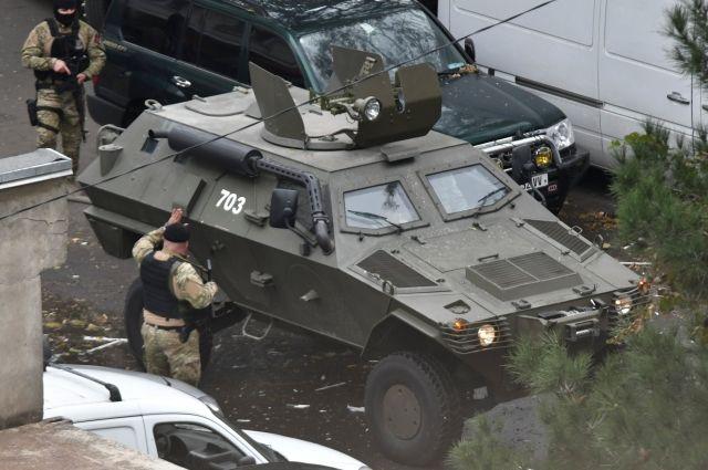 В Тбилиси ликвидировали предполагаемого террориста