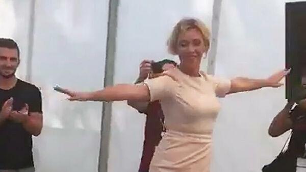 Захарова станцевала лезгинку на молодежном форуме