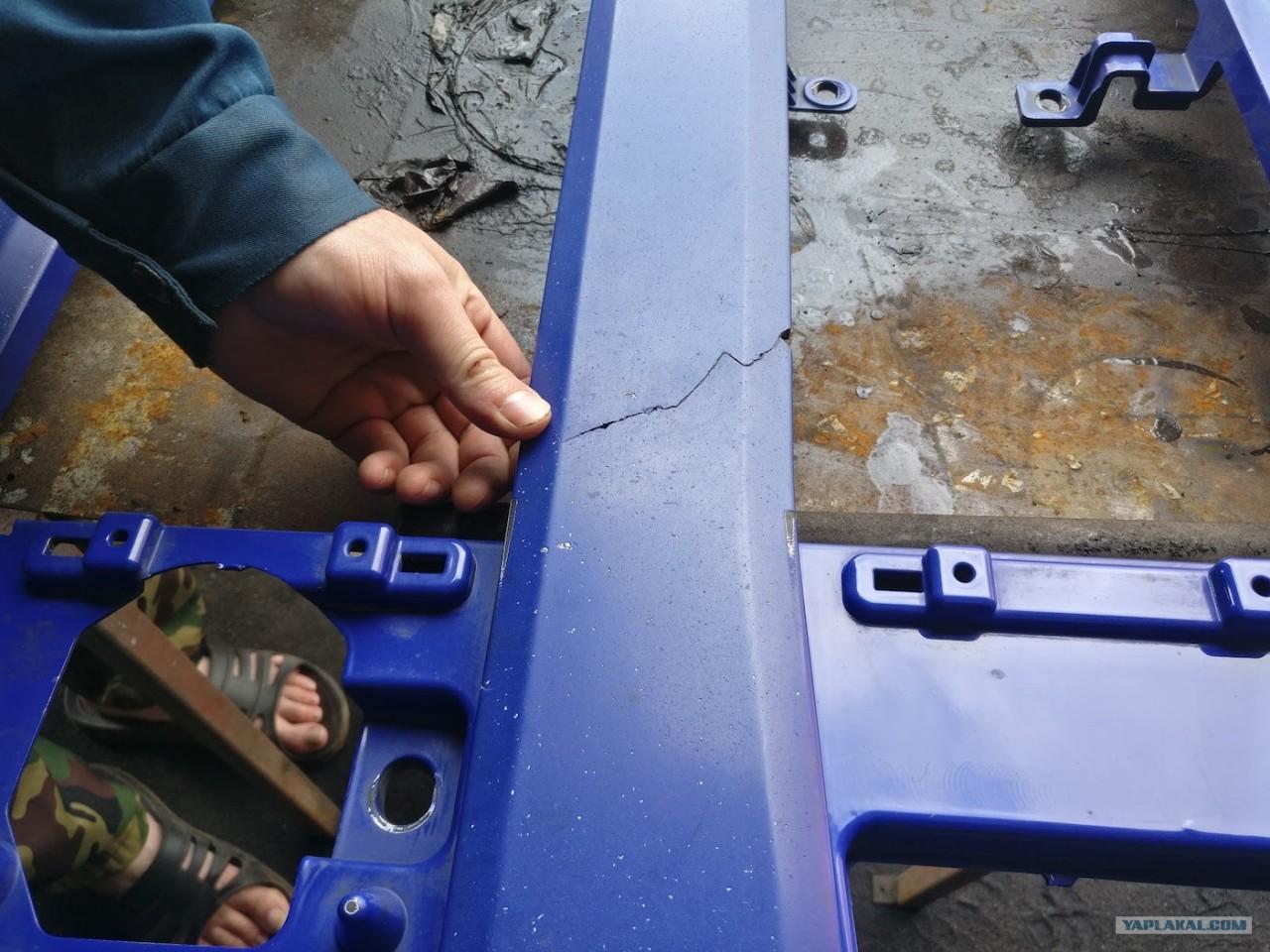 Самостоятельный ремонт пластиковых деталей на примере VOLVO FM