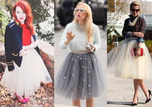 Модная юбка-пачка, вдохновляемся идеями
