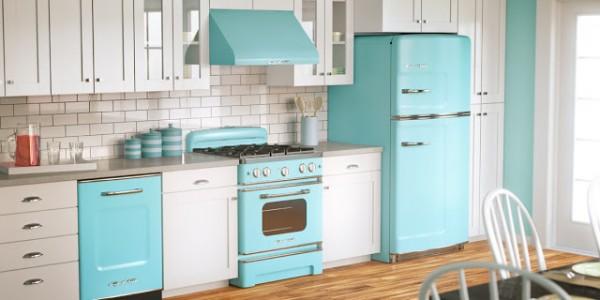 голубые кухни-5