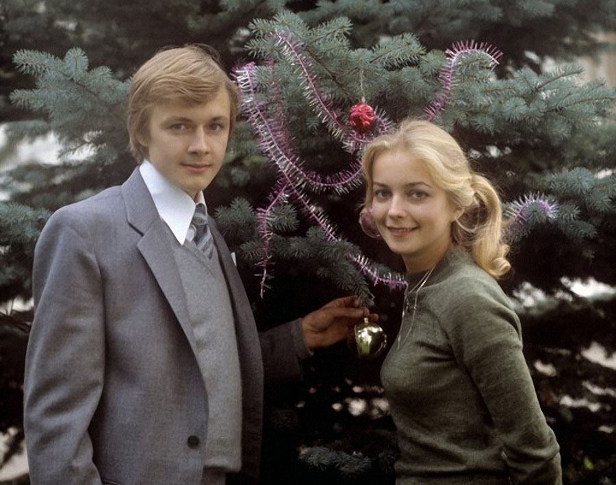 Наталья Вавилова и Владимир Шевельков. 1984 год.