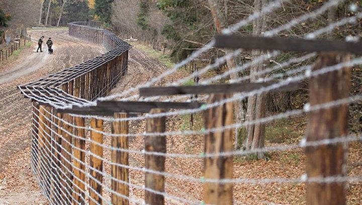 В Курской области на границе с Украиной боевики-исламисты напали на пограничников