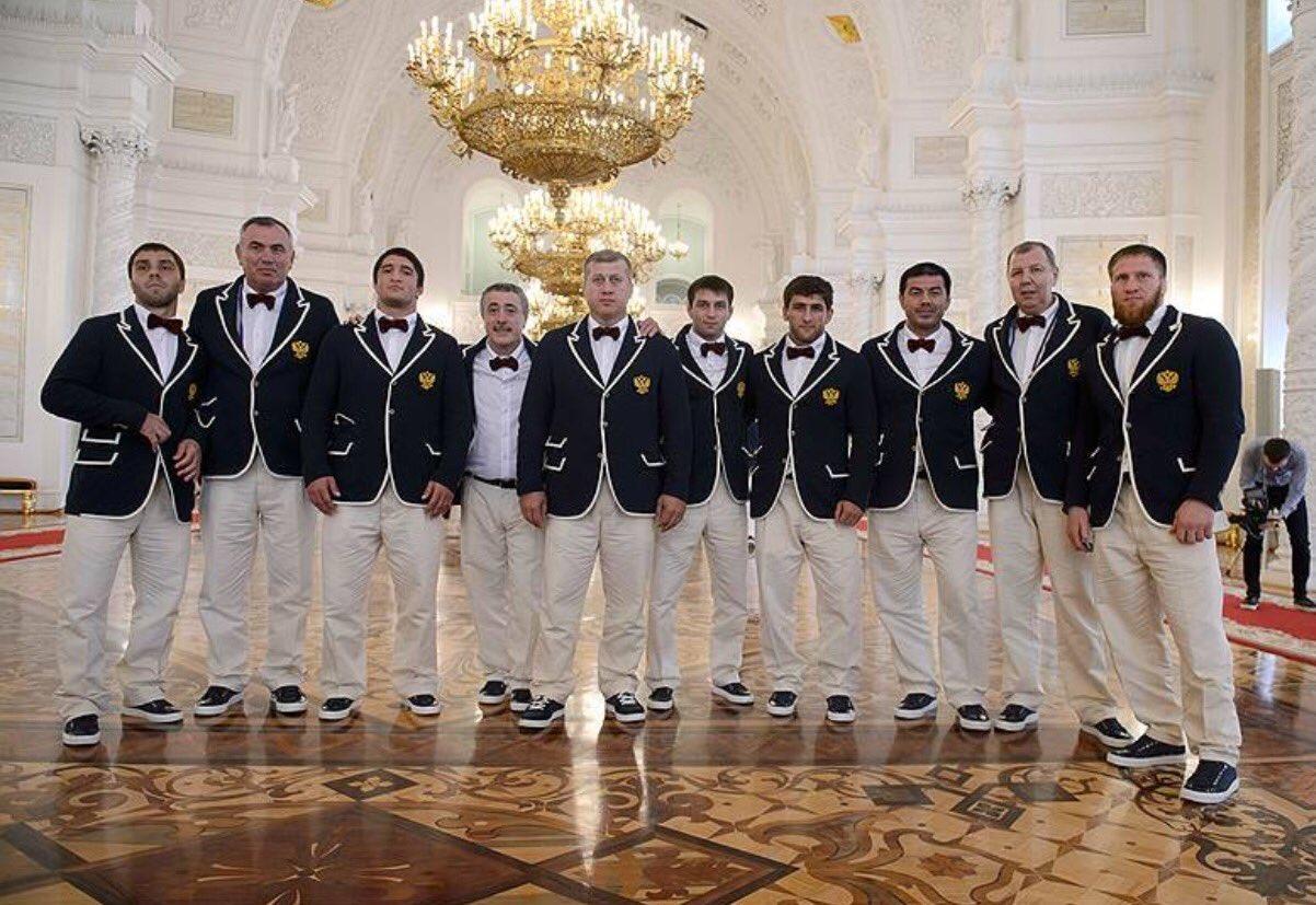 Боже, а кто делал олимпийскую форму для сборной РФ?