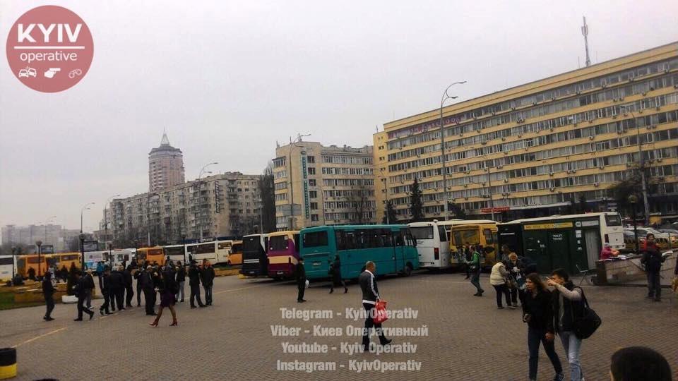 В Киеве произошла потасовка …