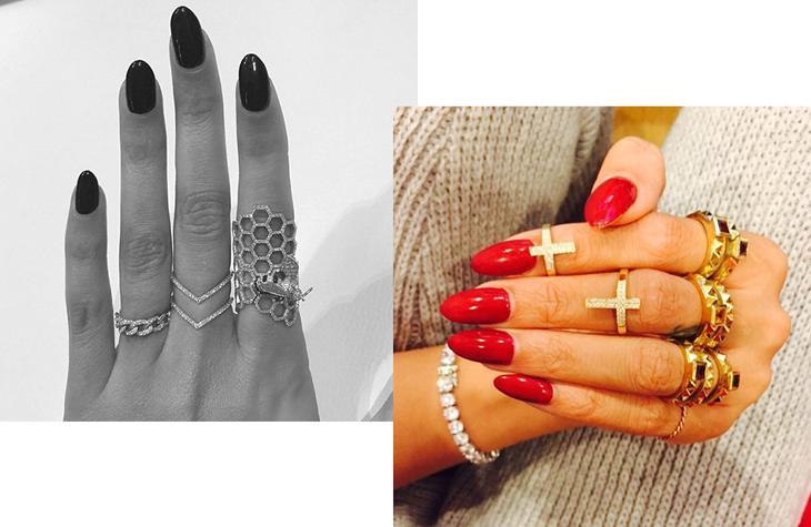 Остромодная форма ногтей — стилетто