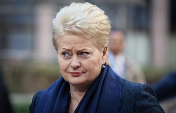 Грибаускайте: Россия строит АЭС вБелоруссии назло Литве