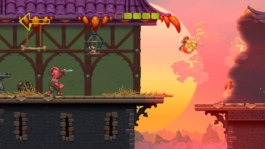 Новый игровой трейлер Nidhogg 2 представил локации и кастомизацию персонажей