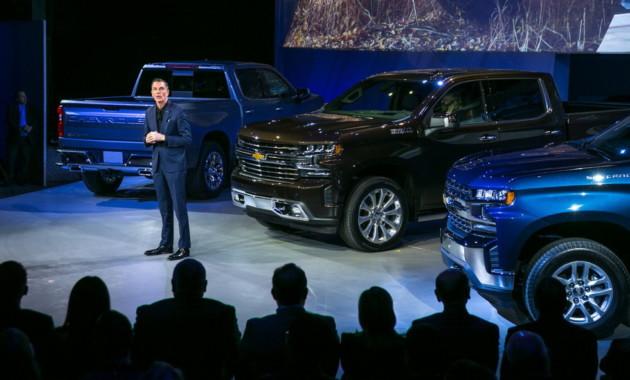 Новый пикап Chevrolet Silverado представили в Детройте